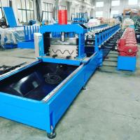 Buy cheap 100 mm Shaft Highway Guardrail Roll Former Machine with Gear Box Transmission product