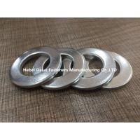 Best White Zinc Plated Stainless Flat Washers / Round Flat Washers Wear Resistance wholesale