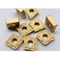 Best RK7025 CNMG190612 DM Carbide Cutting Inserts Yellow Color For CNC Cutting Tool wholesale