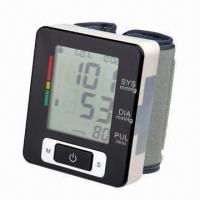 Best Wrist Blood Pressure Monitor with Auto Power Off and 2 x AAA Batteries wholesale