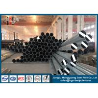 Best Minimum Yield Strength 345 MPA Steel Conical Steel Utility Poles 25m Electrical Power Pole wholesale