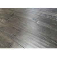 China Gray Distressed Laminate Flooring with Distressed Surface Glueless Unilin Click on sale