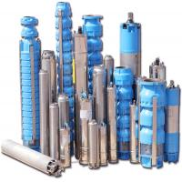 China Multiple Stage Deep Well Electric Submersible Water Pump with 80 - 180 m Pump Capacity on sale