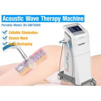 Best Air compressor 2-5 bar Effective Cellulite Treatment Acoustic Wave Therapy Equipment For Body Slimming wholesale