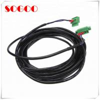 Best Black And Round PB 5 Pin Connector / Electrical Power Cable Assembly For Metro wholesale