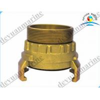 China Brass French Type Fire Fighting Equipment Fire Hose Coupling With Storz Female on sale