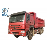China Howo Tipper 6x4 Sinotruk Dump Truck Euro 2 336hp/370hp Engine Hyva for Middle Lifting on sale