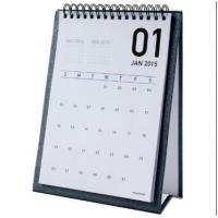 Best Table Monthly Easel Desk Calendar Sticky Notes For Weekly / Daily Planner wholesale