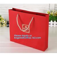 Luxury Recyclable Custom Personalized Design Glossy Tote Carrier Packaging Paper
