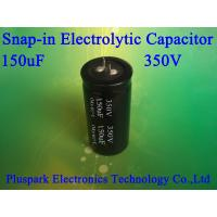 China 150uF 350V Aluminum Electrolytic SNAP IN Capacitor +/-20% M on sale
