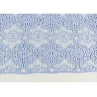 Buy cheap Guipure Dying Lace Fabric With Floral Water Soluble Lace Design For Dress Factory from wholesalers