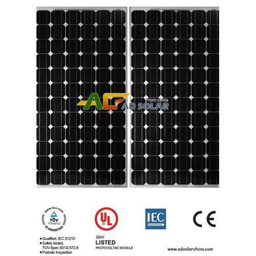 Cheap Moncrystalline silicon panel 180w for sale