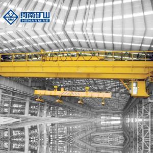 China High Precision Factory Steel Plant Crane 10 Ton - 50 Ton Capacity Qc Model on sale