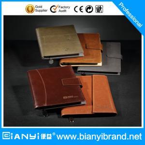Best New design leather loose leaf notebook wholesale