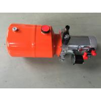 Buy cheap Orange 6L Steel Tank DC Compact Hydraulic Power Unit for Dump Trailer product
