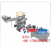 China 1-4mm Thickness Low Cost Nice Outlook PVC Artificial Marble Machine / PVC Faux Marble Making Machine on sale