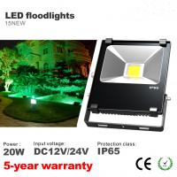 Best 20W LED Floodlights DC12V/24V Outdoor IP65 Waterproof flooding Spotlight CE, ROHS wholesale