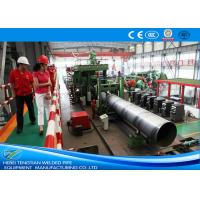 Best Erw Pipes 304 Stainless Steel Pipe Welding Machine / Welded Tube Mill wholesale