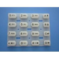 Best Customized Non-toxic Custom Silicone Rubber Keypads For Cellular Phone Keypads wholesale