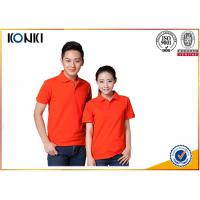 Best Cotton / Polyester Golf Polo Shirt Knitted Mens Custom Printed Polo Shirts wholesale