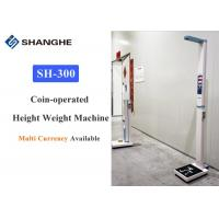 Cheap Adult Body Weight And Height Scale Voice Broadcasting Aluminium Alloy Material for sale