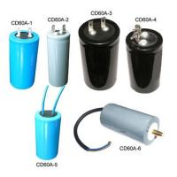 China CD60A Electrolytic Motor Starting Capacitors on sale