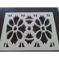 Best White Closed Cell PVC Celuka Foam Board Glossy Anti UV For Cutting Decoration wholesale