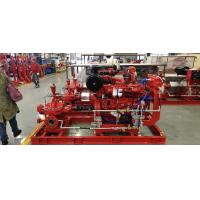 Best Large Electric Motor Driven Centrifugal Pump / Techtop Motor Fire Fighting Pump Set NFPA20 wholesale