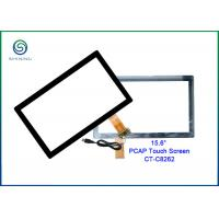 Buy cheap 15.6 Inch Projected Capacitive Touch Screen With Strengthened Cover Glass from wholesalers
