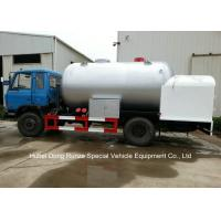 Best Road Bobtail LPG Gas Tanker With Mobile Dispenser , Bobtail Propane Delivery Truck wholesale