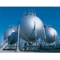 China Triple Wall Stainless Steel Pressure Vessel Tank , Natural Gas Storage Tank on sale