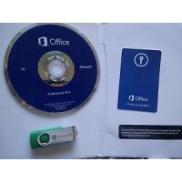 China USB License Microsoft Office 2013 Key Code Office Home And Student 2013 1 DVD With Card on sale