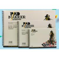 Best Artist painting pad , the marker pad , A3 / A4 / A5 , low permeation marker pad wholesale