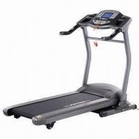 China Home Treadmill with 6 Inches LCD Screen, 2555x415mm Running Belt and Safeguard System on sale
