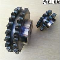 Best industrial double chain sprocket nature color all kinds of double row sprockets wholesale