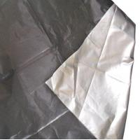 China 100% Polyester Taffeta Fabric with Silver Coating Fabric on sale