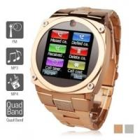 """Best TW818B Unlocked Watch Cell Phone 1.6"""" TFT Touch Screen Quad Band GSM Mobile Hidden Camera wholesale"""