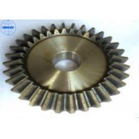 China Left Hand Direction Brass Screw / Spiral Bevel Gear High Precision Transmission on sale