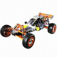 China Gasoline RC Car with Upgraded Metal-alloy Parts and 80kph Maximum Speed on sale