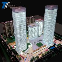 Best Lighting architectural models , scale miniature square model making wholesale
