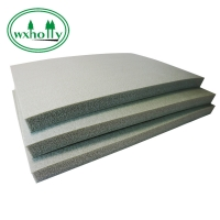 China 22mm High Density Rubber And Plastic Flexible Sound Insulation Board on sale