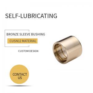 Best ASTM B505 CuSn12 Bronze Sleeve Bushings wholesale