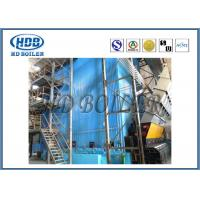 China Industrial Self Supporting Corner Tube Boiler With Natural Circulation Cooling on sale