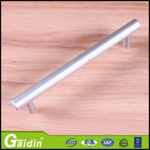 China Modern popular T bar stainless steel cabinet door handles simple modern design aluminum pull handles on sale