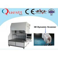 Best 3D Dynamic Scanner Fiber Laser Marking Machine With Sealed Optical System , 375W RF wholesale