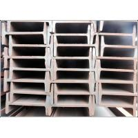 China Hot Rolled JIS G3101 SS400 Steel I Beams with Black / Galvanizing Surface wholesale