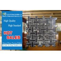China Royal Marble Mosaic Tiles Black White Marble Wall Tiles Exterior Floor Designs on sale