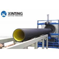 China SBG250 Siemens Motor Corrugated Pipe Machine, PP / HDPE Pipe Extrusion Line on sale
