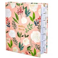 Best Custom Size Wedding Planner And Organizer Lined Inner Printing Beautiful Cover wholesale
