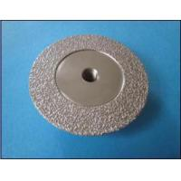 China Vacuum brazed diamond cutting and grinding disc on sale